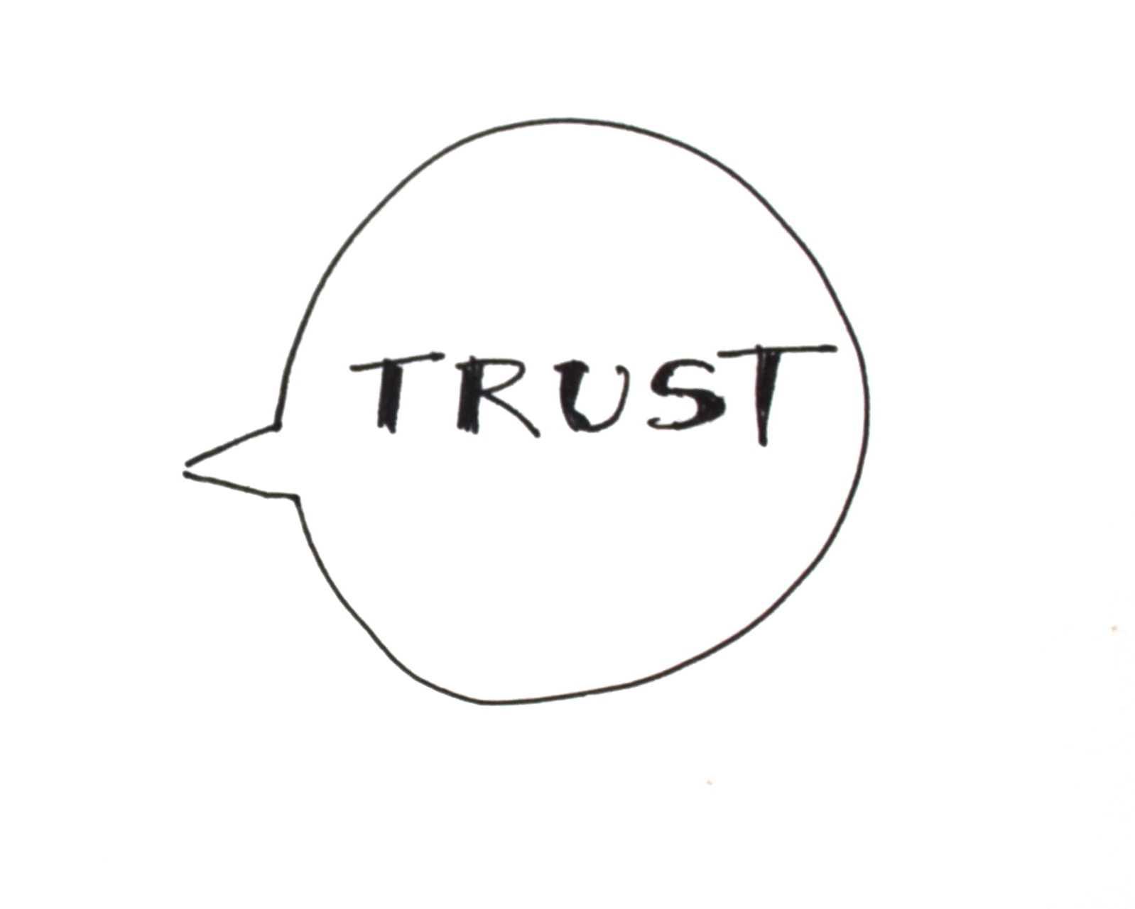 The art of conversation: a matter of trust?