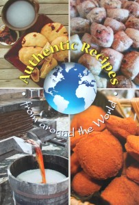 Authentic Recipes from around the world project