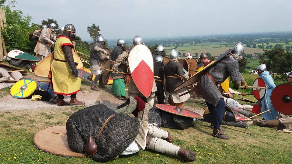 Medieval Re-enactment at Beeston castle