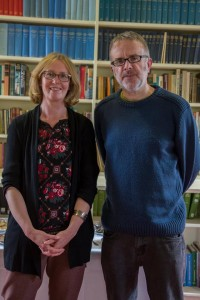 Kate Butler and Adrian Davis, the UWTSD Lampeter PASS supervisors.