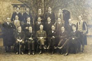 St. David's College Students, Ex-service Men, 1918-19