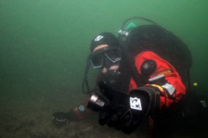 Miguel diving at Solent