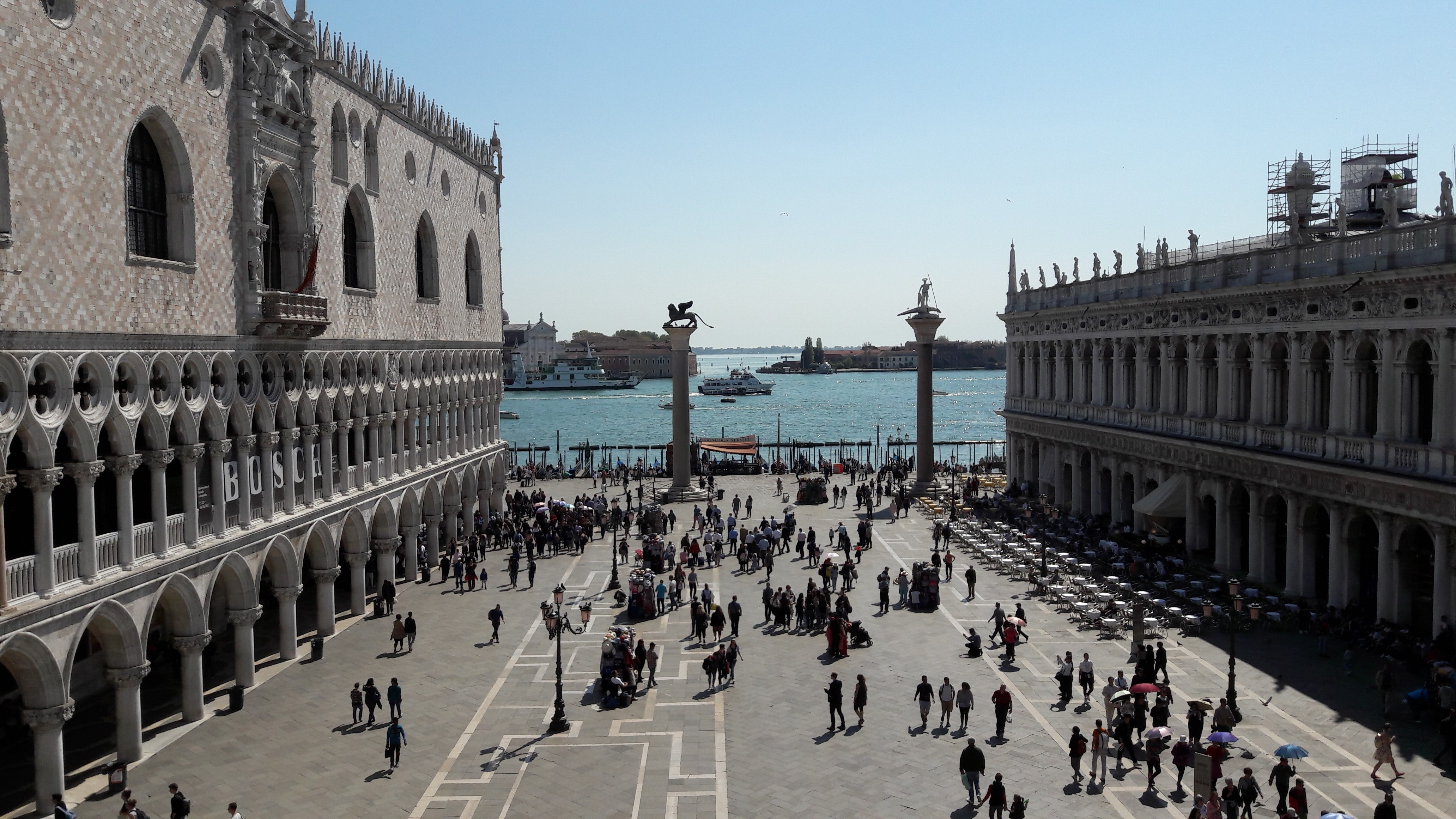 A medieval historian let loose in Venice …