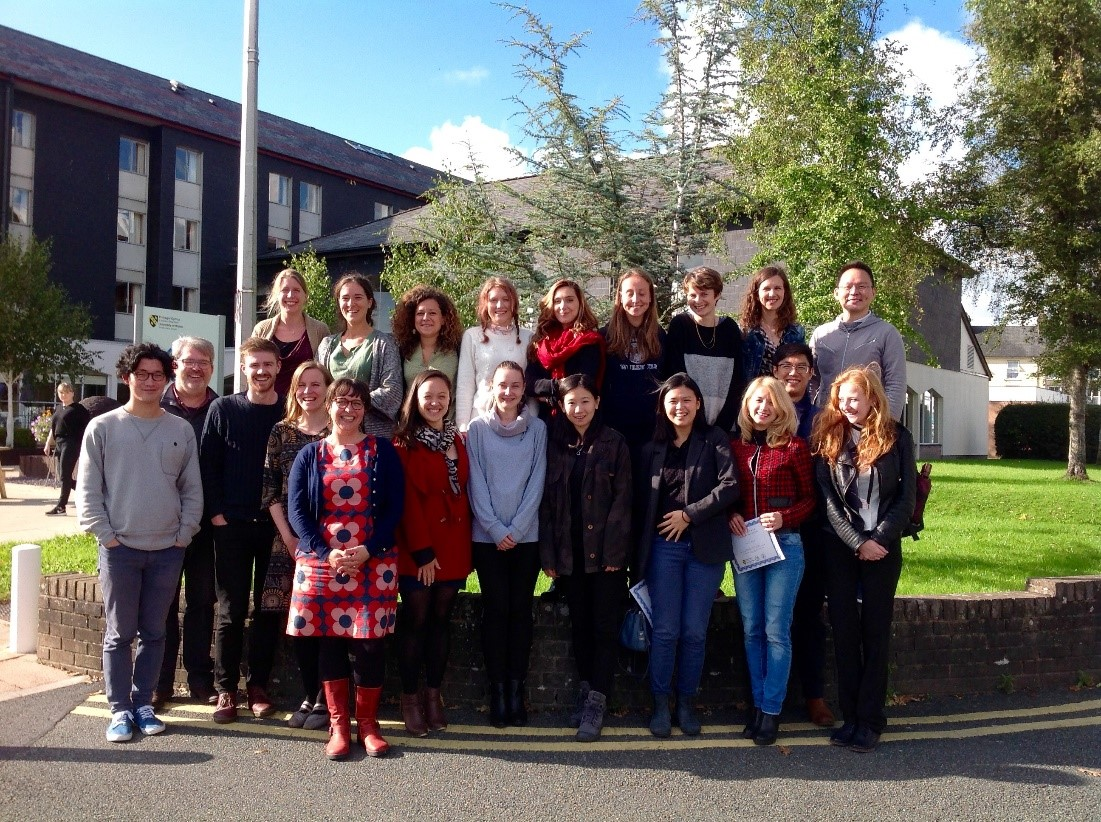European Association Chinese Studies, Summer School, UWTSD Lampeter