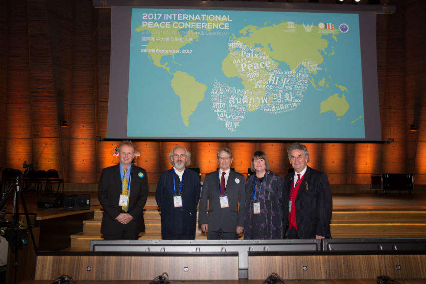 UWTSD at the UNESCO Conference, Paris September 2017