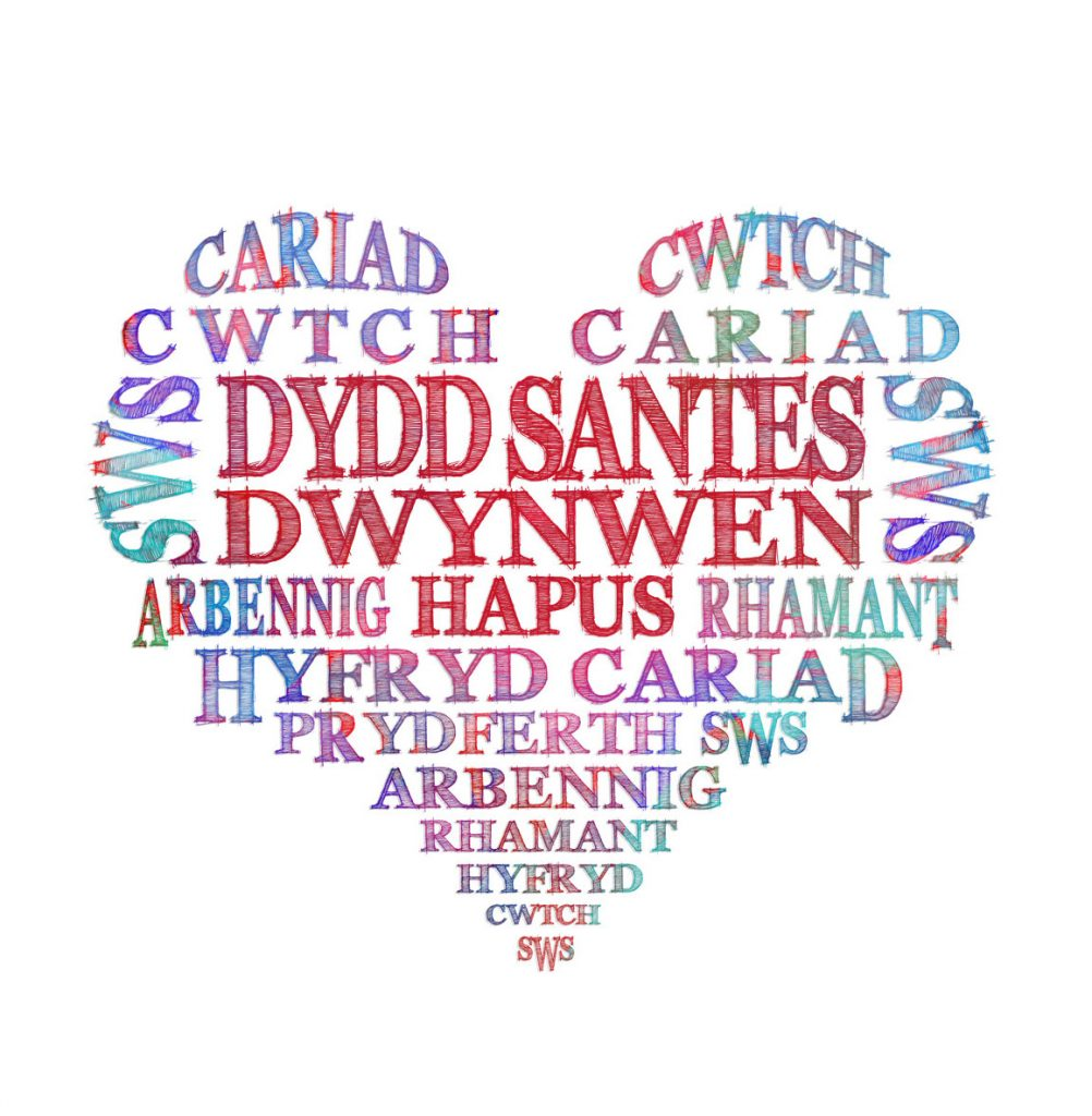 Image result for santes dwynwen